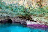 Le grotte vicino Marina di Novaglie